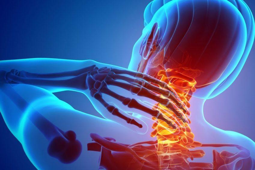 Animation of cervical spine