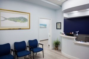 Waiting room view of Tidal Chiropractic